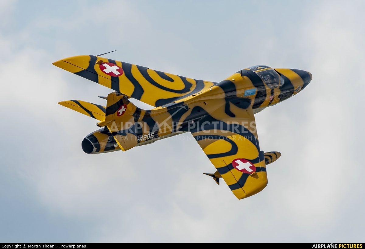 FFA Museum HB-RVV aircraft at St. Gallen - Altenrhein