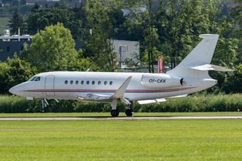 OY-CKK - Air Alsie Dassault Falcon 2000 DX, EX