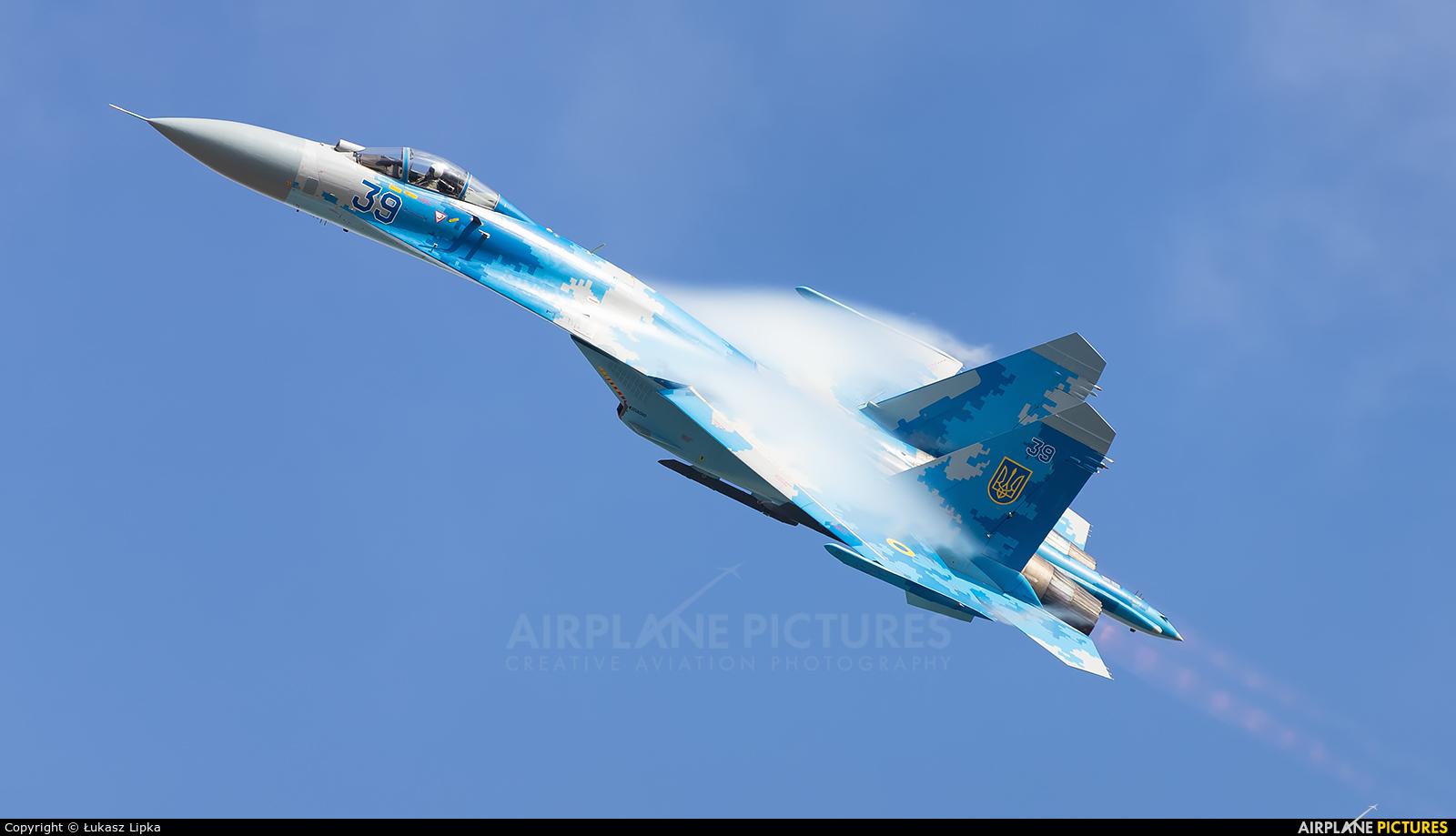 Ukraine - Air Force 39 aircraft at Fairford