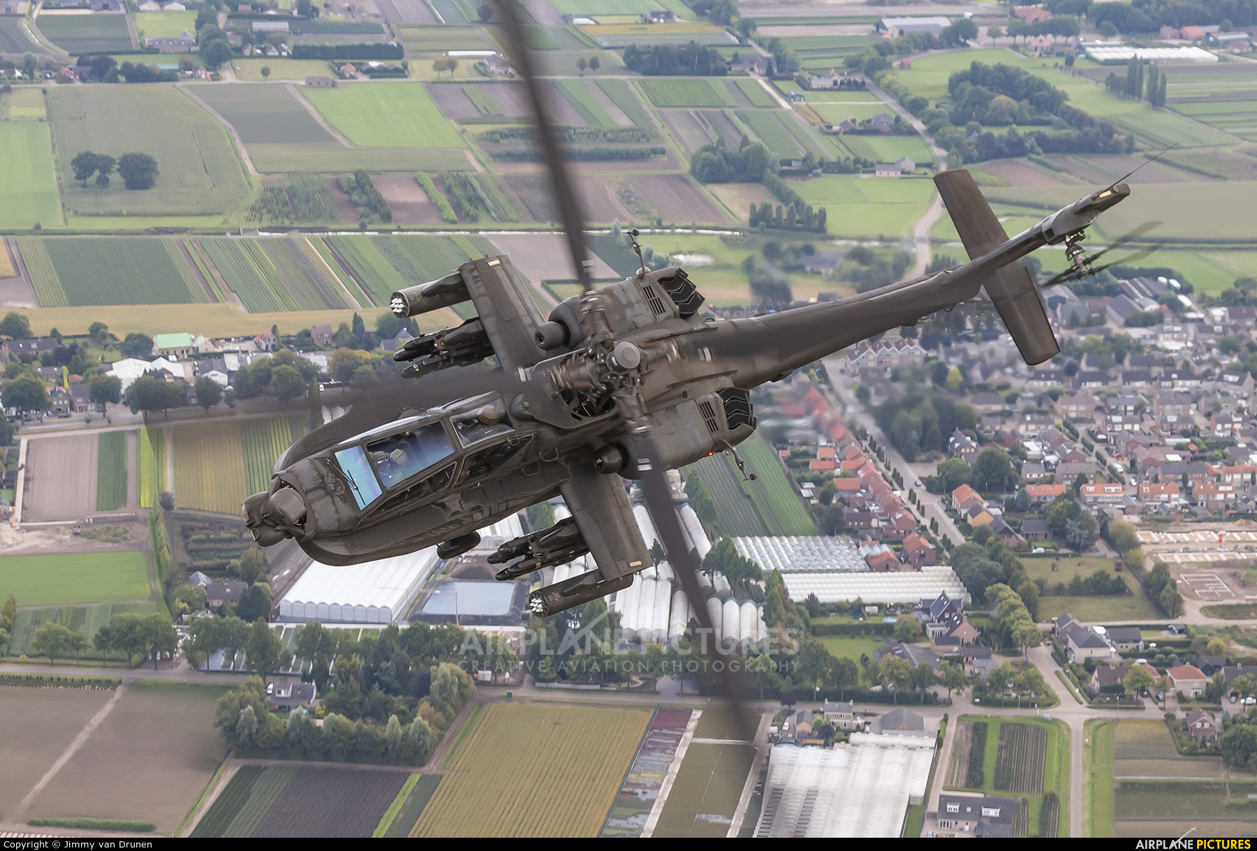 Netherlands - Air Force Q-05 aircraft at In Flight - Netherlands