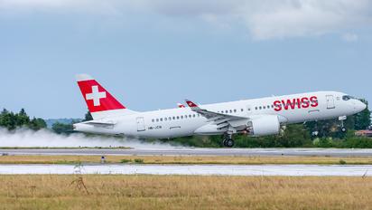 HB-JCM - Swiss Bombardier CS300