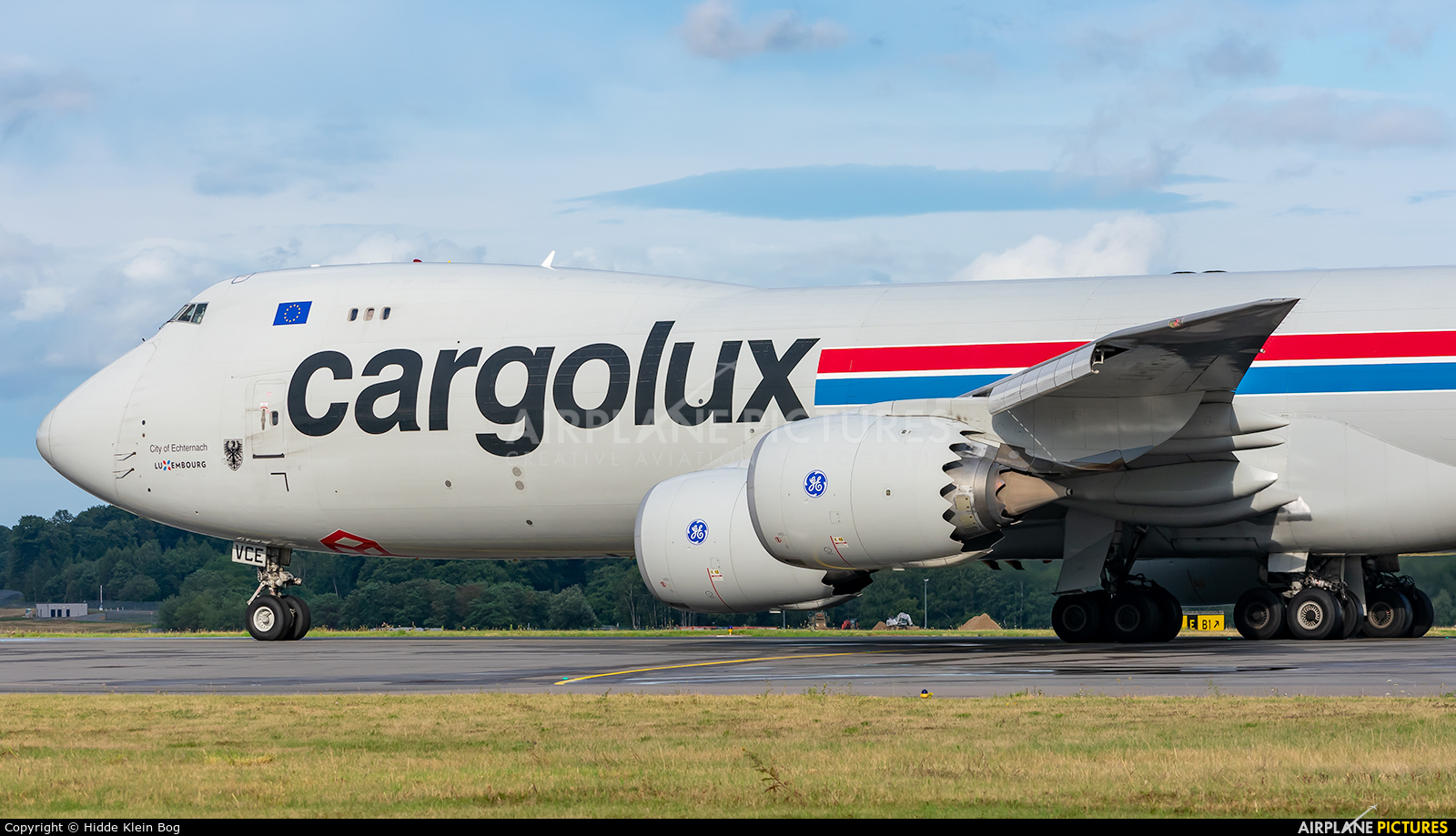 Cargolux LX-VCE aircraft at Luxembourg - Findel