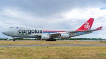 LX-YCV - Cargolux Italia Boeing 747-400F, ERF aircraft