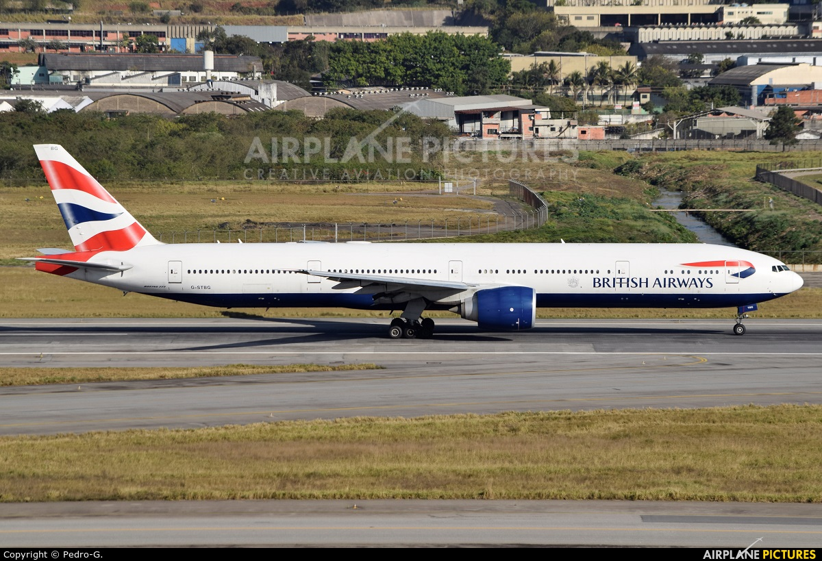 British Airways G-STBG aircraft at São Paulo - Guarulhos