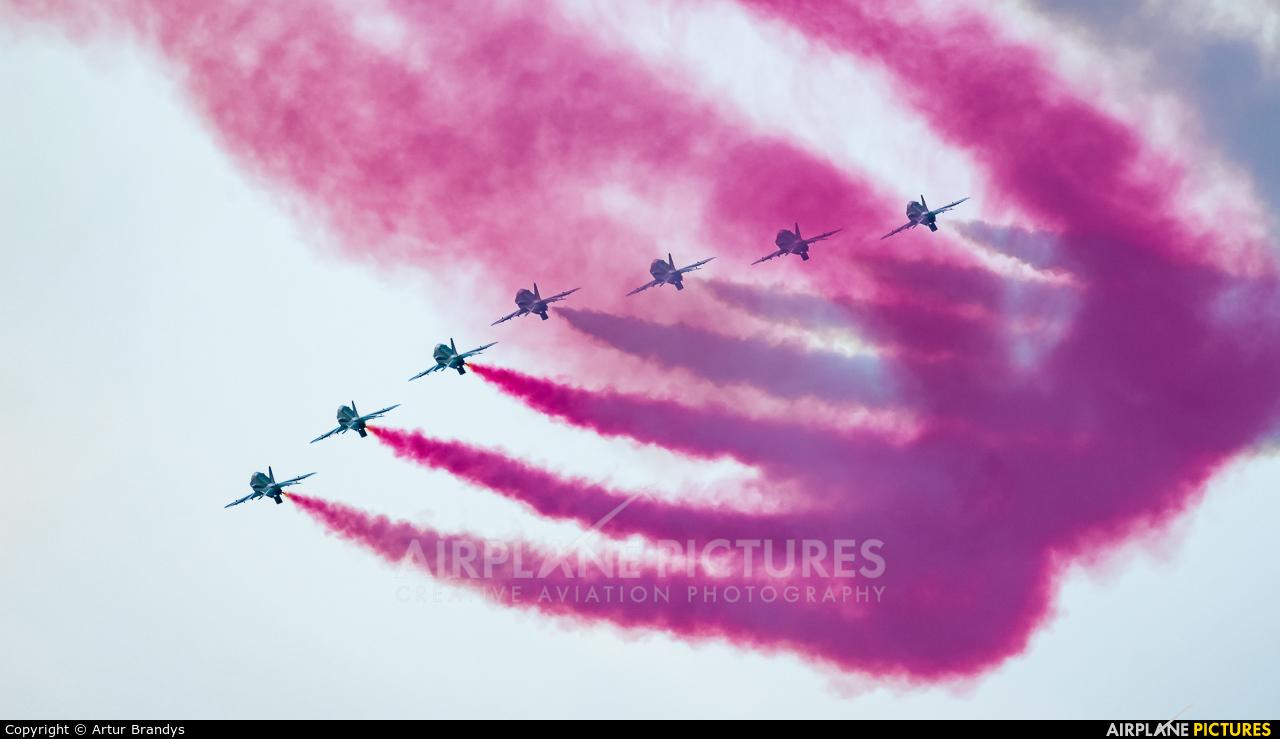 Saudi Arabia - Air Force: Saudi Hawks 8820 aircraft at Gdynia