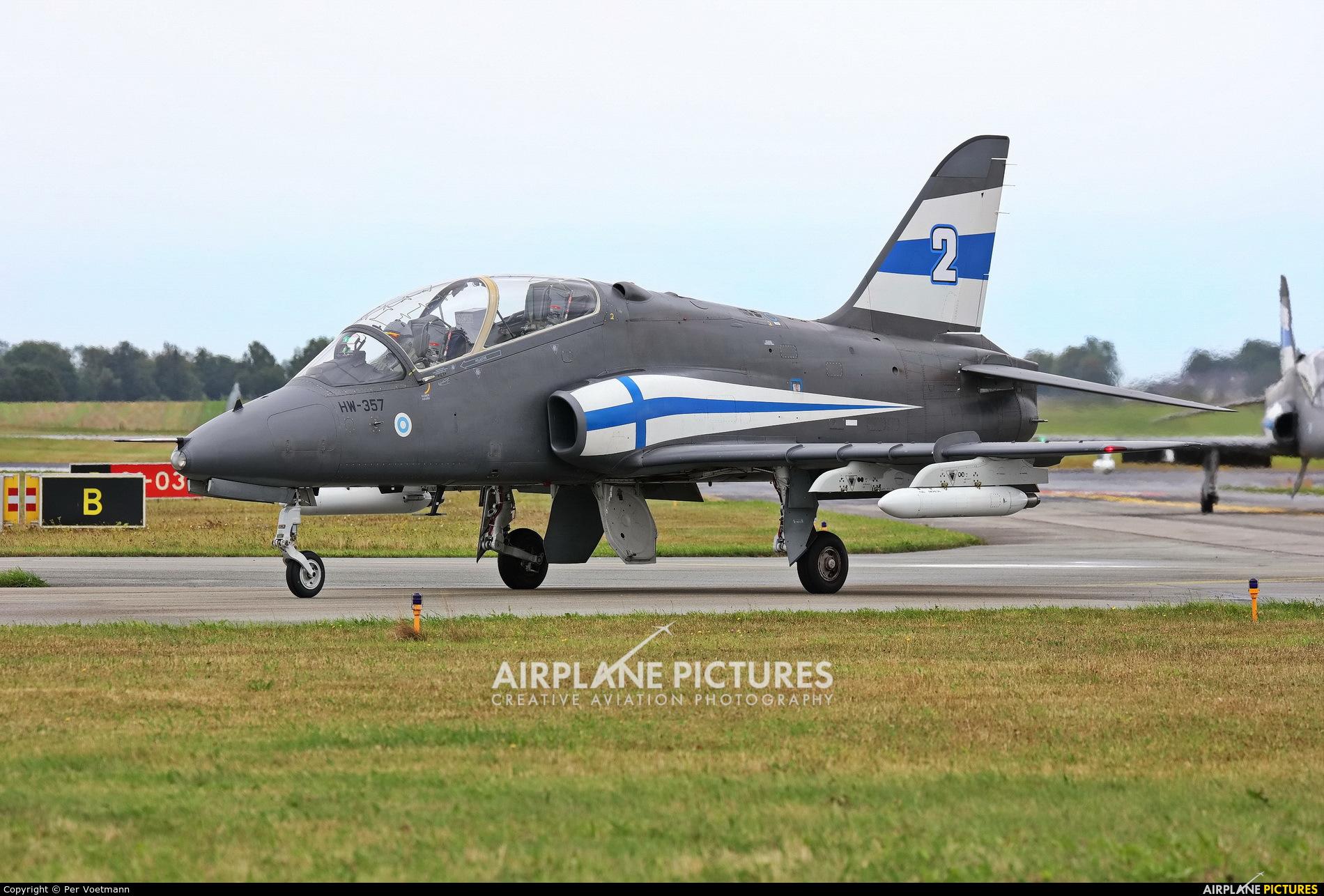 Finland - Air Force: Midnight Hawks HW-357 aircraft at Copenhagen Roskilde