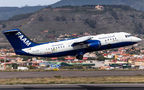 BAe Systems BAe146 visited Tenerife Los Rodeos