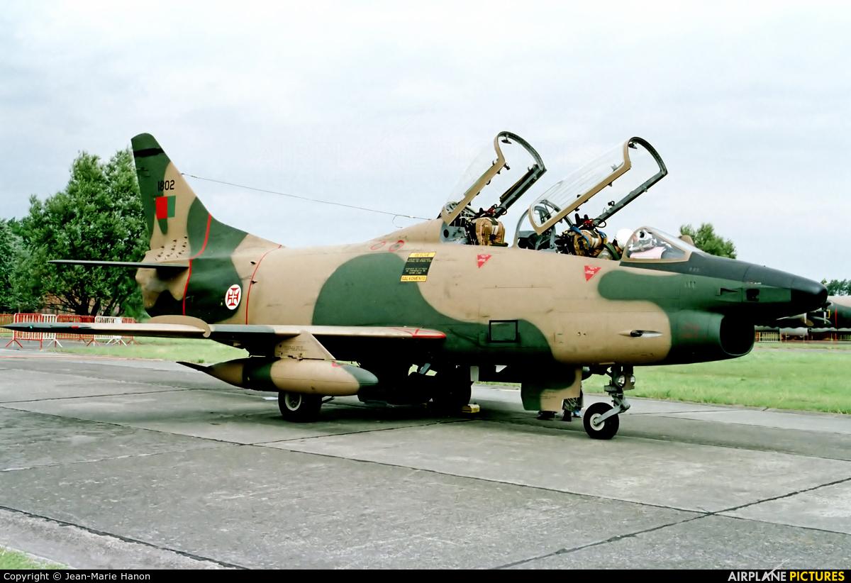 Portugal - Air Force 1802 aircraft at Koksijde