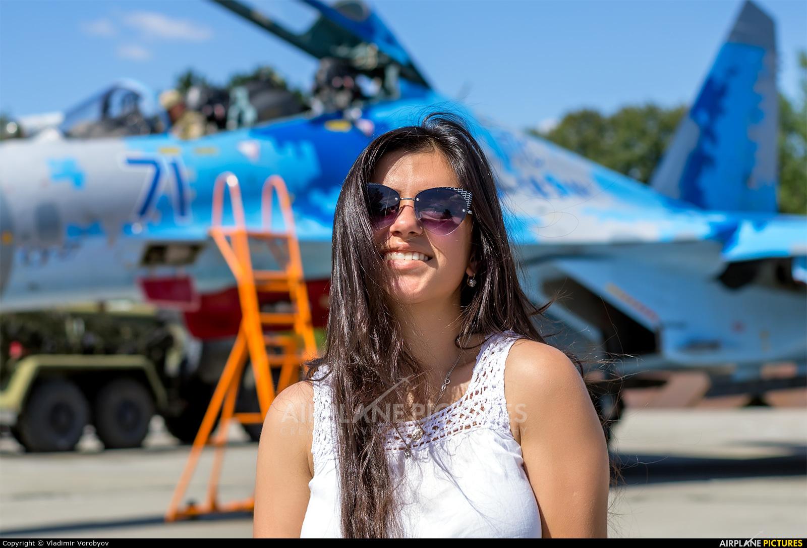 Ukraine - Air Force 71 BLUE aircraft at Ivano-Frankivsk Intl