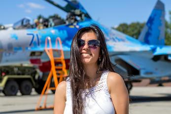 71 BLUE - Ukraine - Air Force Sukhoi Su-27UB
