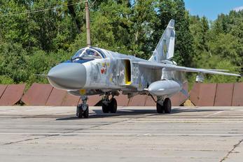08 WHITE - Ukraine - Air Force Sukhoi Su-24M