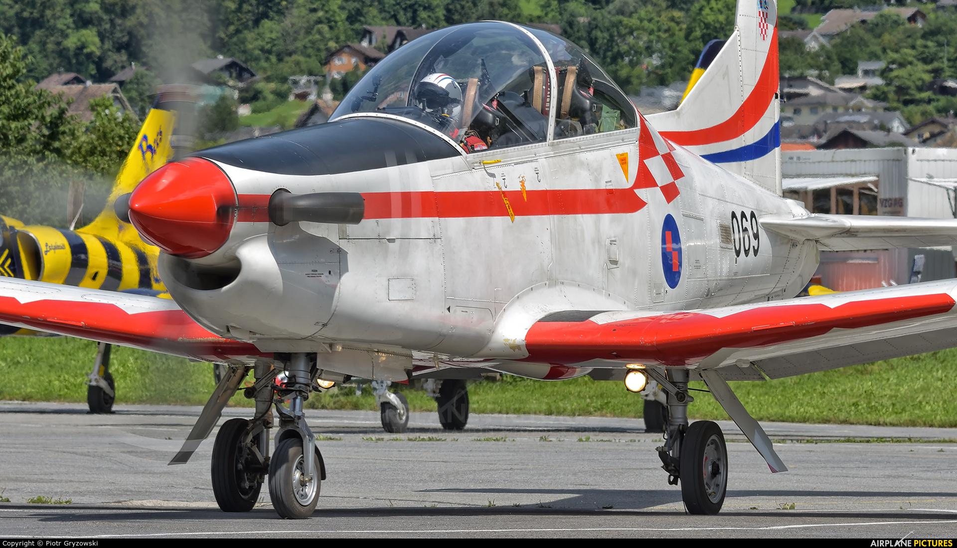 Croatia - Air Force 069 aircraft at Mollis