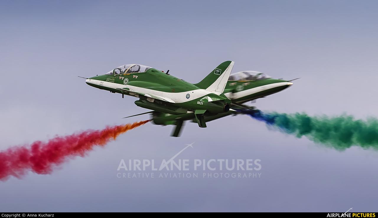 Saudi Arabia - Air Force: Saudi Hawks 8821 aircraft at Gdynia- Babie Doły (Oksywie)