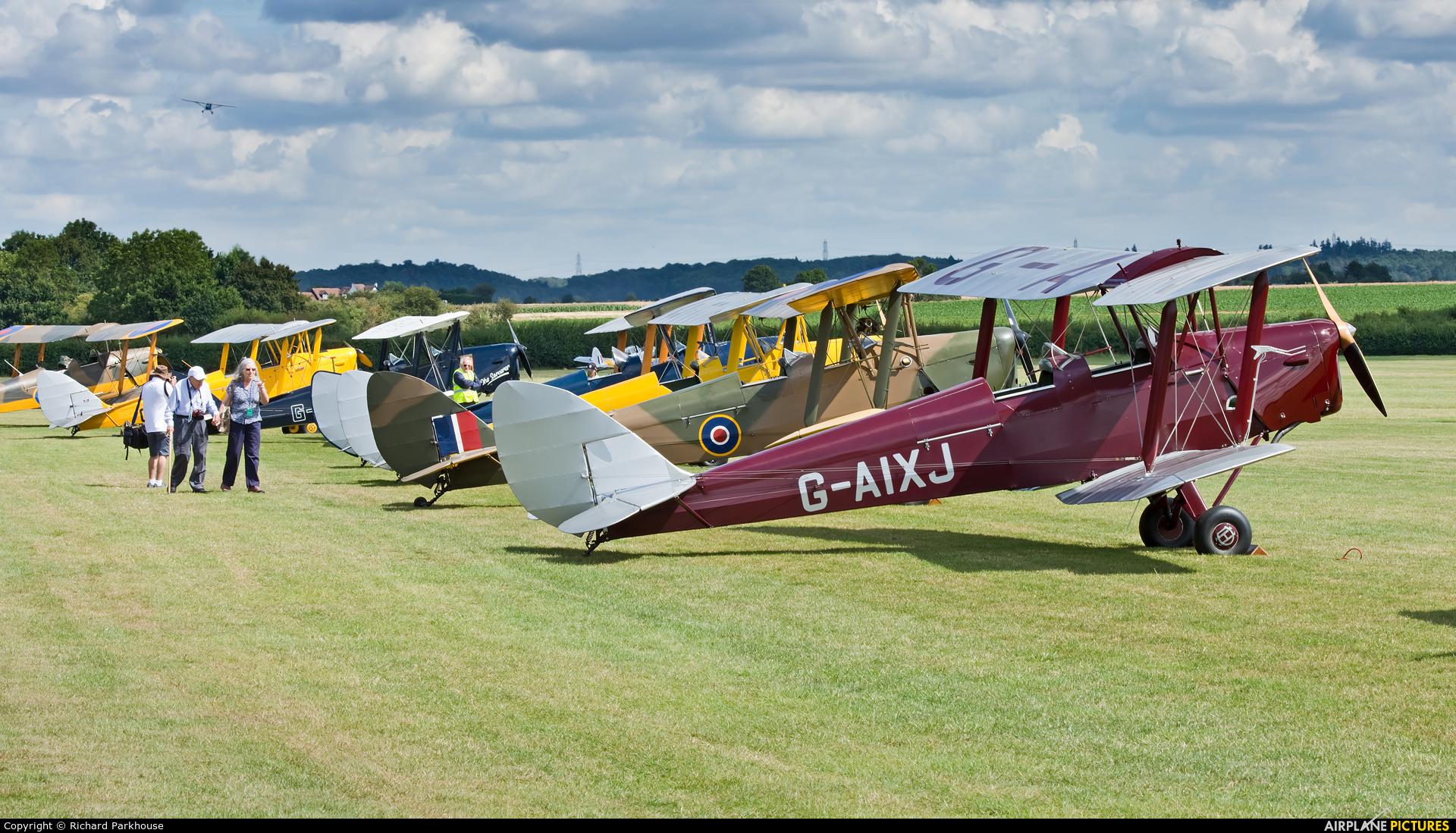 Private G-AIXJ aircraft at Old Warden