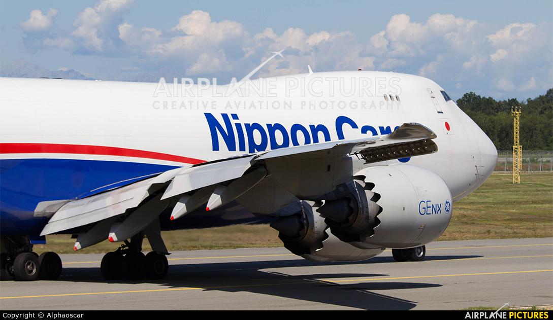 Nippon Cargo Airlines JA17KZ aircraft at Milan - Malpensa