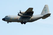 Saudi Arabian Air Force C-130 visited Budapest title=