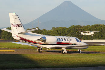 N896CG - Private Cessna 550 Citation Bravo