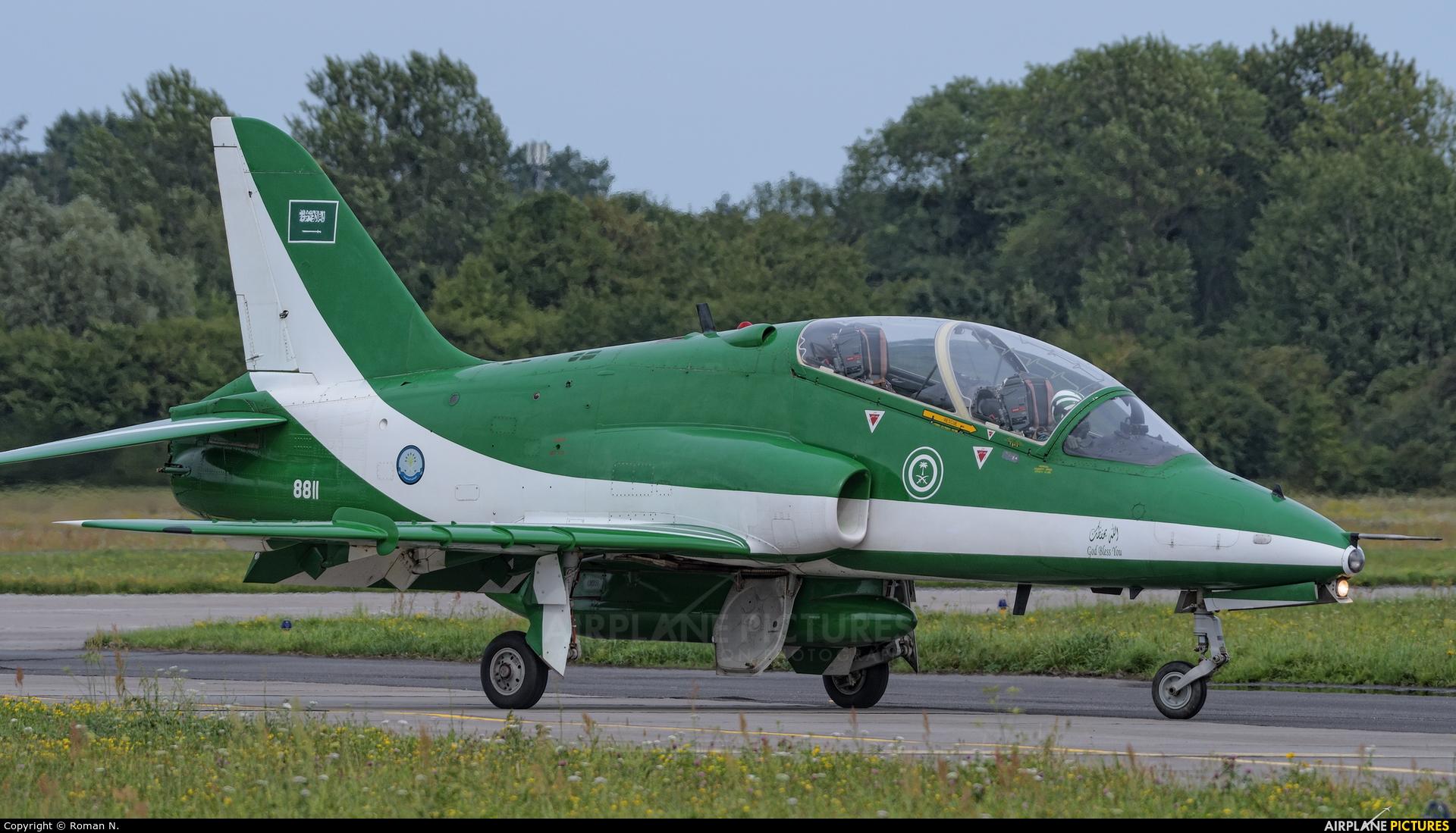 Saudi Arabia - Air Force: Saudi Hawks 8811 aircraft at Gdynia- Babie Doły (Oksywie)