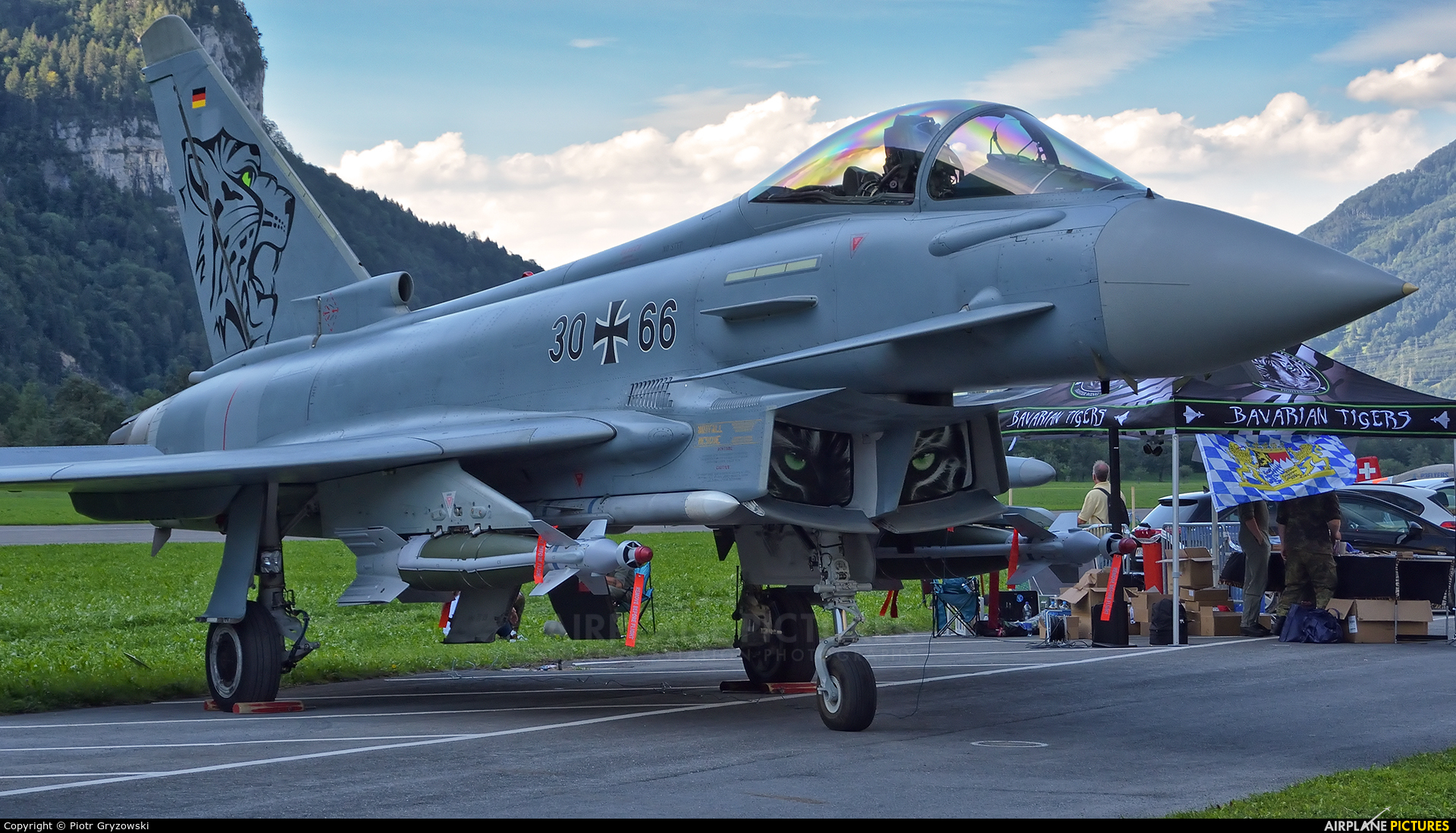 Germany - Air Force 30+66 aircraft at Mollis