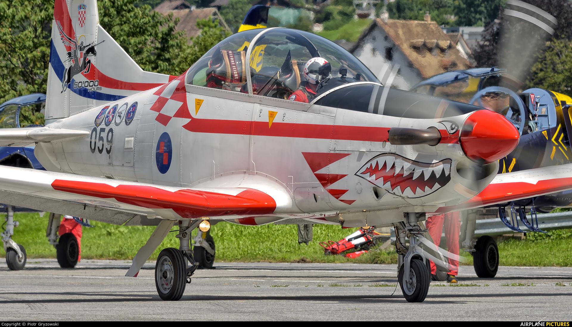Croatia - Air Force 059 aircraft at Mollis