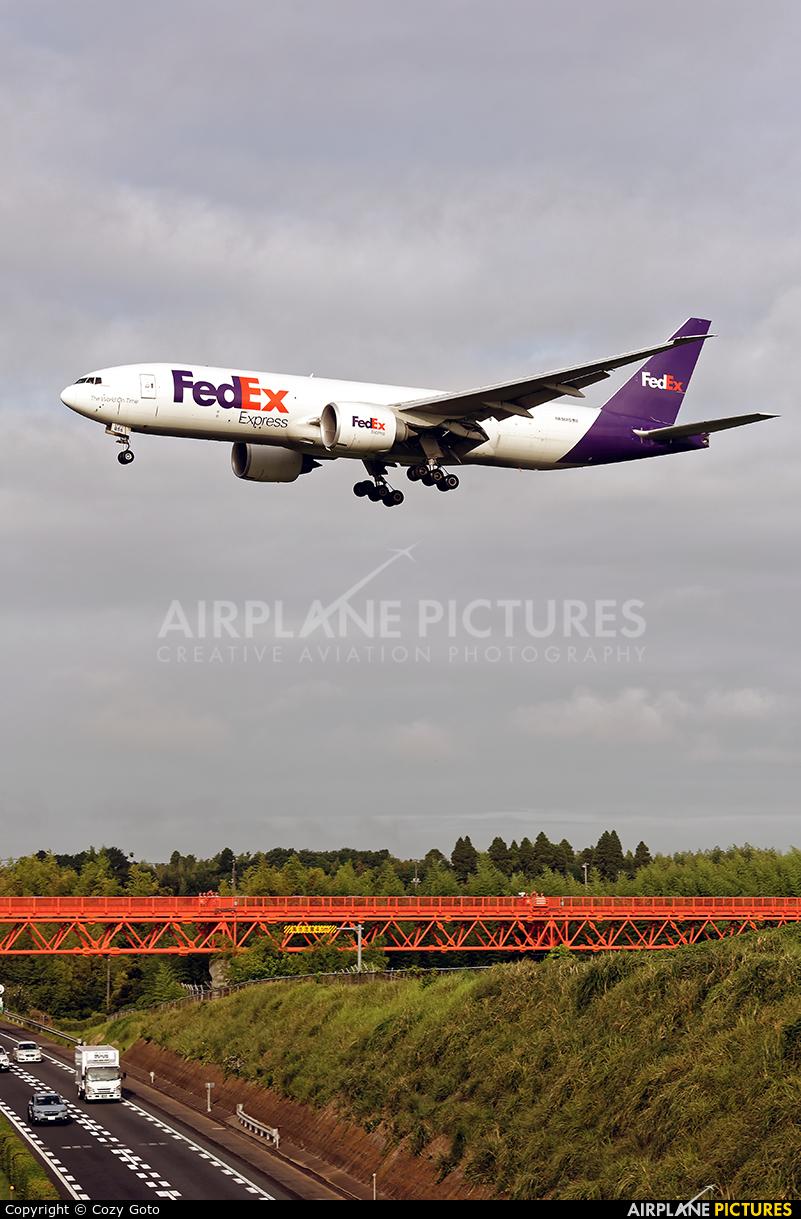 FedEx Federal Express N856FD aircraft at Tokyo - Narita Intl