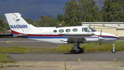 N401WM - Private Cessna 401