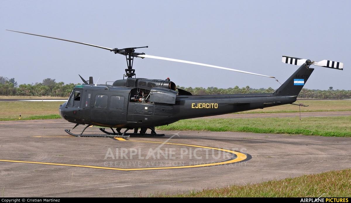 Argentina - Army AE-470 aircraft at Formosa Intl