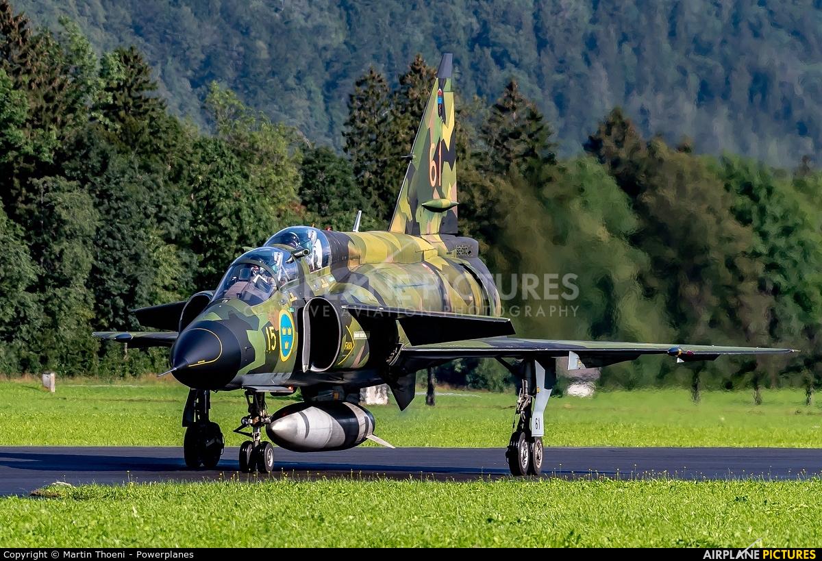 Swedish Air Force Historic Flight SE-DXO aircraft at Mollis