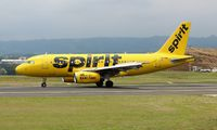 N534NK - Spirit Airlines Airbus A319 aircraft