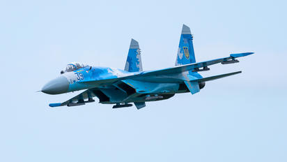 39 - Ukraine - Air Force Sukhoi Su-27