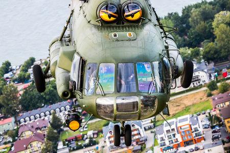 #1 Poland - Air Force Mil Mi-17AE 606 taken by Damian Szymula - EPKK Spotter