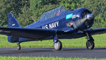 N43AF - FFA Museum North American Harvard/Texan (AT-6, 16, SNJ series)
