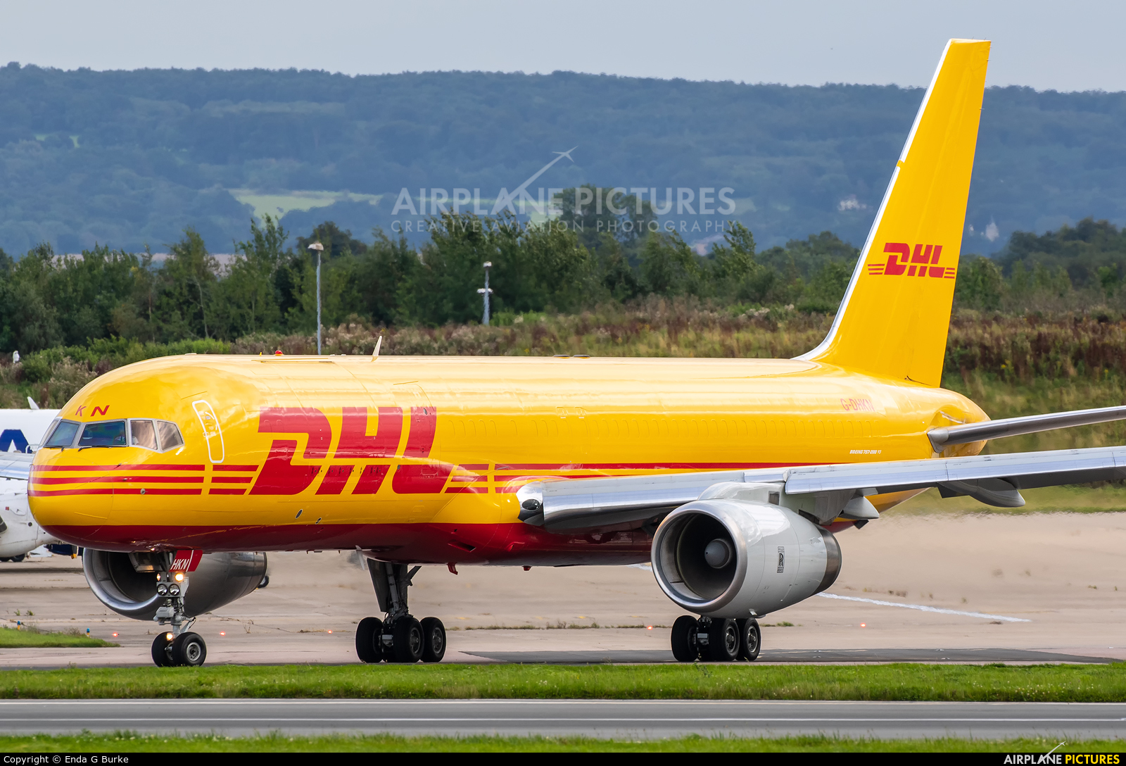 DHL Cargo G-DHKN aircraft at East Midlands