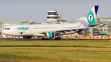 Rare visit of Evelop A330 to Dusseldorf