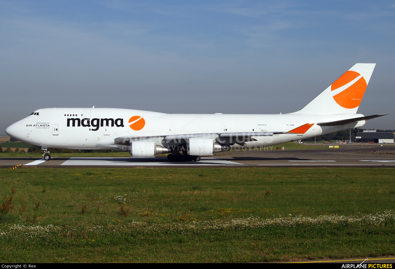 Magma Aviation TF-AMR aircraft at Liège-Bierset
