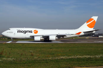 TF-AMR - Magma Aviation Boeing 747-400