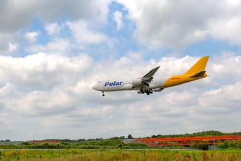 N858GT - Polar Air Cargo Boeing 747-8F