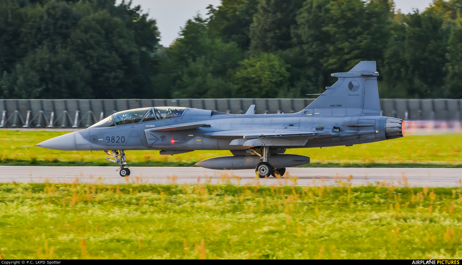Czech - Air Force 9820 aircraft at Pardubice