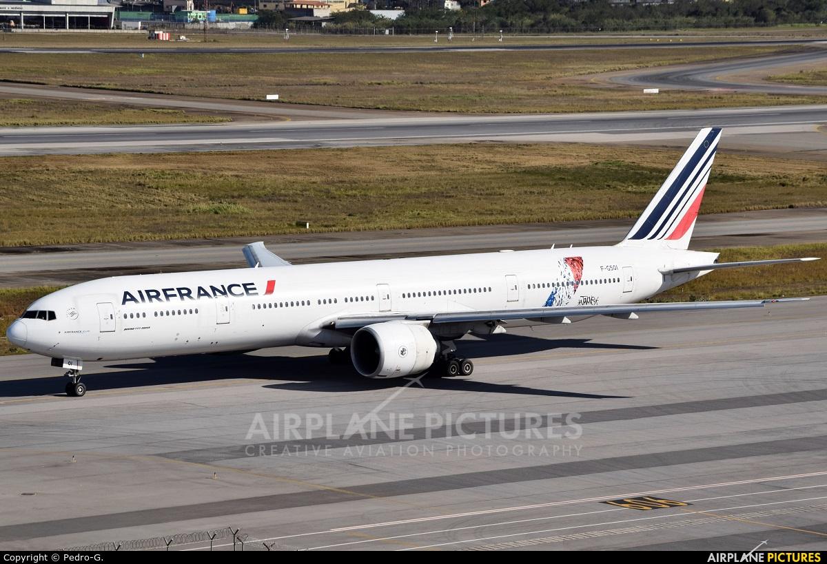 Air France F-GSQI aircraft at São Paulo - Guarulhos