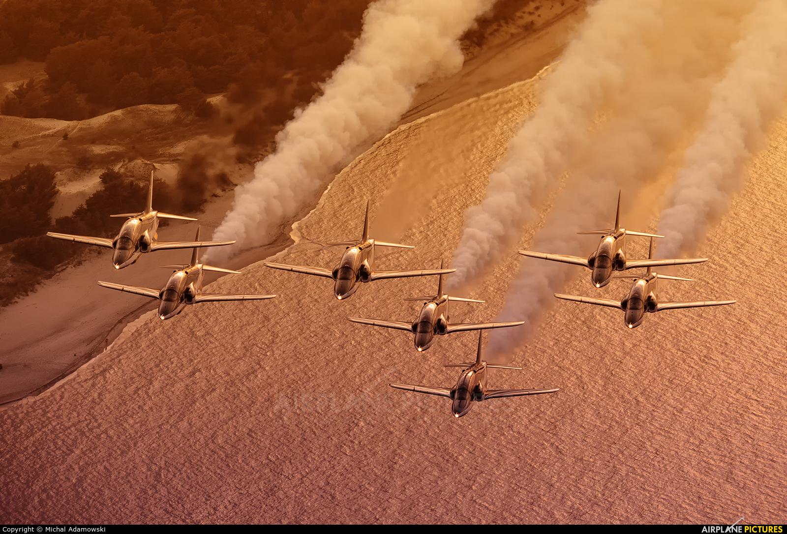 Saudi Arabia - Air Force: Saudi Hawks 8820 aircraft at In Flight - Poland