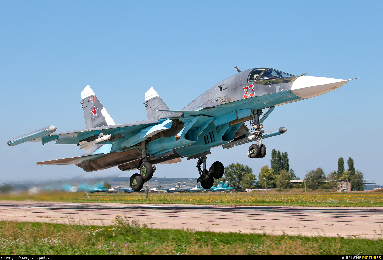 Russia - Air Force 23 aircraft at Undisclosed Location