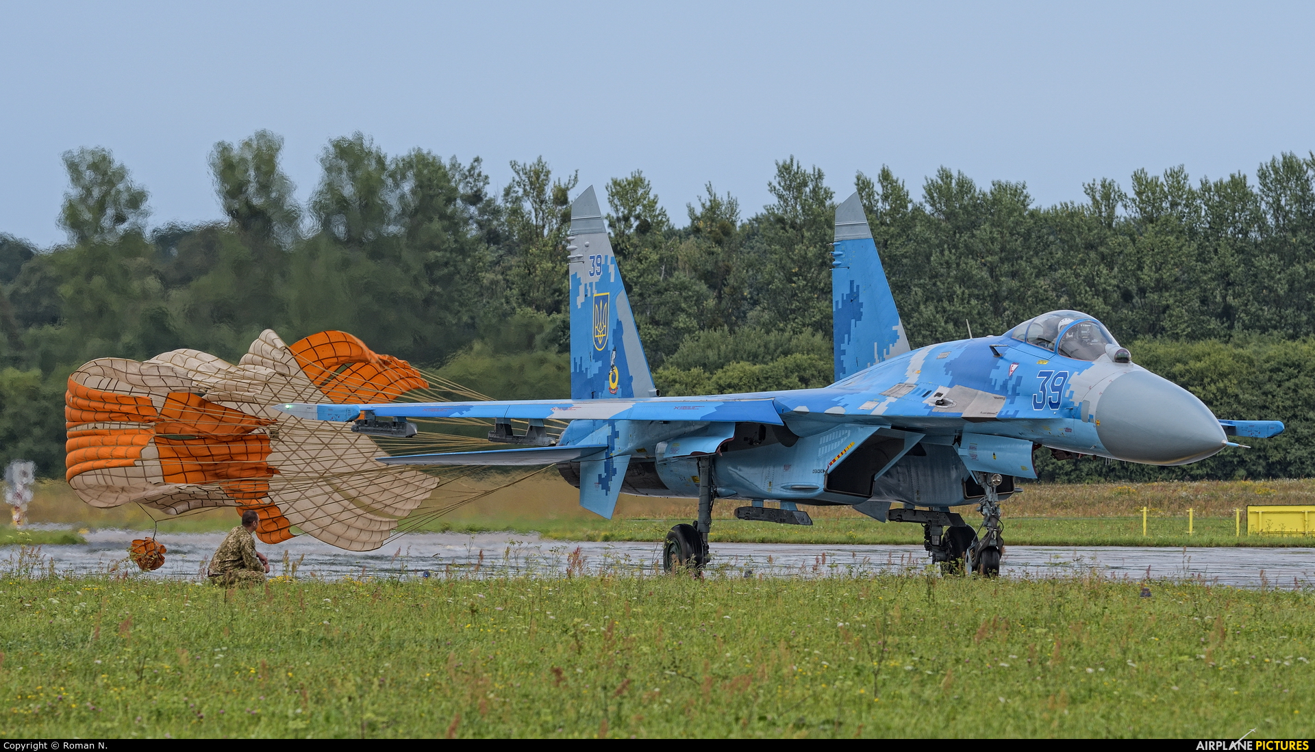 Ukraine - Air Force 39 aircraft at Gdynia- Babie Doły (Oksywie)