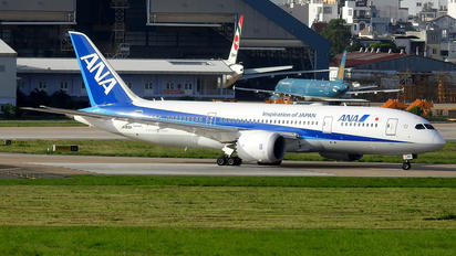 JA815A - ANA - All Nippon Airways Boeing 787-8 Dreamliner