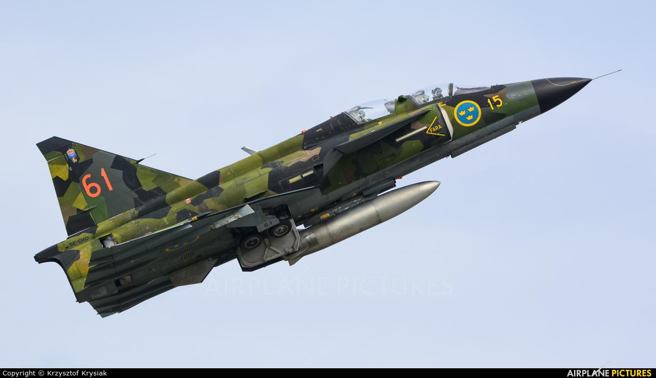 Swedish Air Force Historic Flight SE-DXO aircraft at Gdynia- Babie Doły (Oksywie)