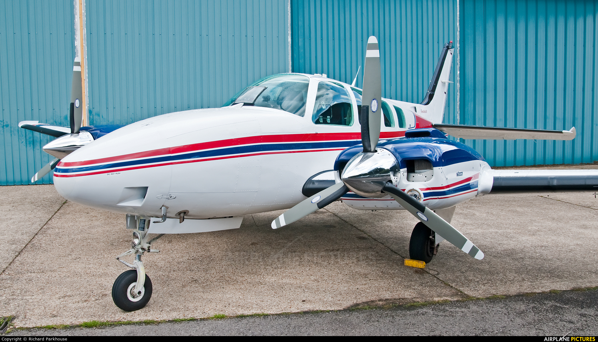 Private N258RP aircraft at Wycombe Air Park - Booker