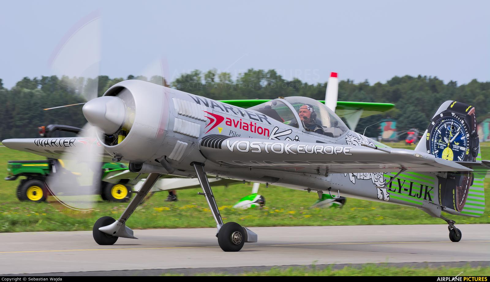 Private LY-LJK aircraft at Gdynia- Babie Doły (Oksywie)