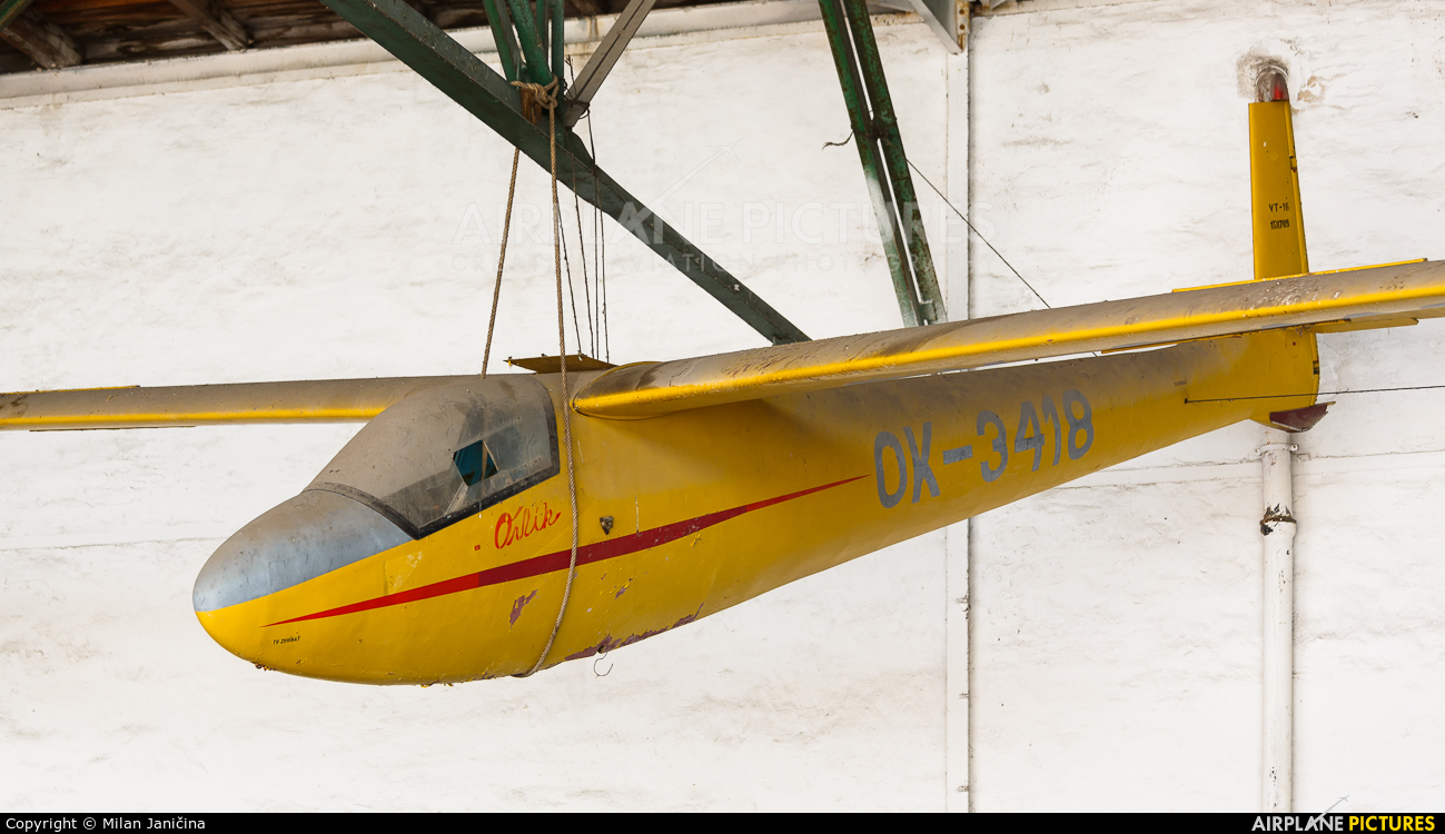 Aeroklub Nitra OK-3418 aircraft at Nitra