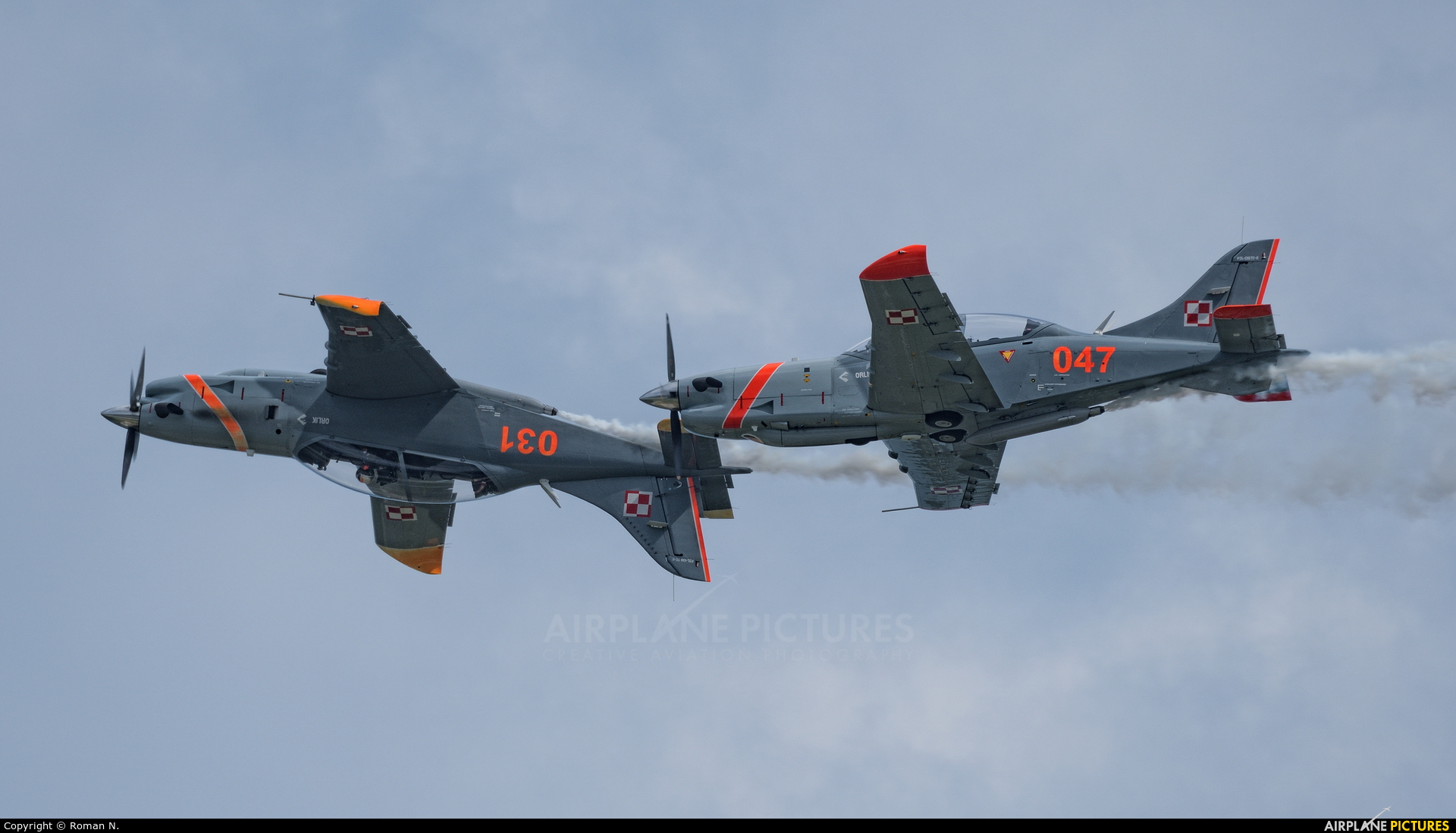 "Poland - Air Force ""Orlik Acrobatic Group"" 047 aircraft at Gdynia- Babie Doły (Oksywie)"