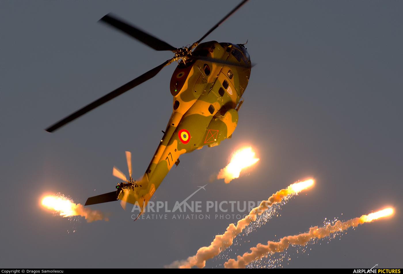 Romania - Air Force 77 aircraft at Bucharest - Aurel Vlaicu Intl