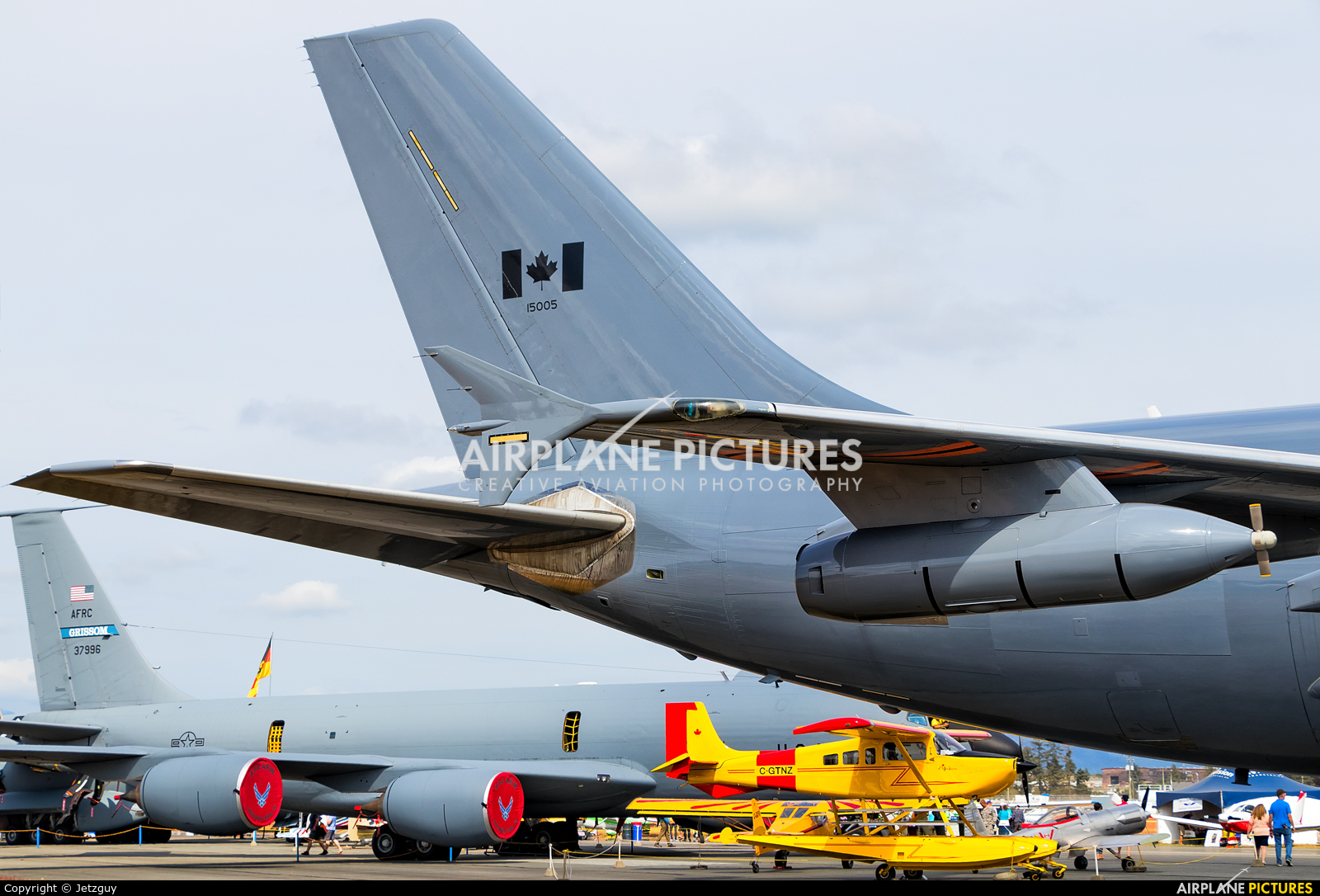 Canada - Air Force 15005 aircraft at Abbotsford, BC